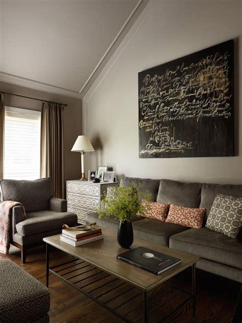 Kim Scodro Interiors townhome den Living room