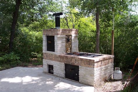 Diy Small Kitchen Ideas - building a brick bbq smoker youtube