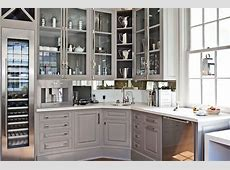 Gray Cabinets Transitional kitchen Benjamin Moore