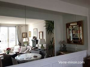 Miroir De Salon : miroir mural sur mesure ~ Teatrodelosmanantiales.com Idées de Décoration