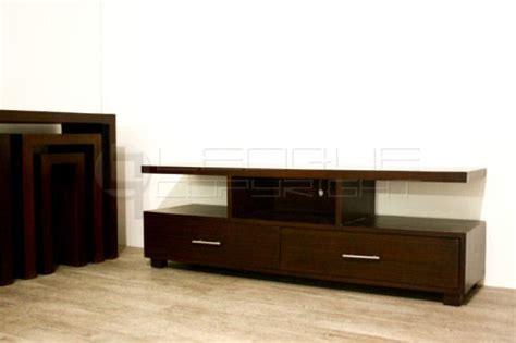 rattan  flat tv rack   big drawers leoque