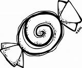 Peppermint Candy Drawing Coloring Pages Getdrawings sketch template