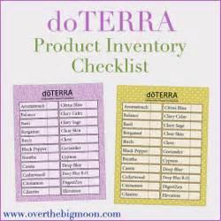 doTERRA Printable Essential Oil Chart