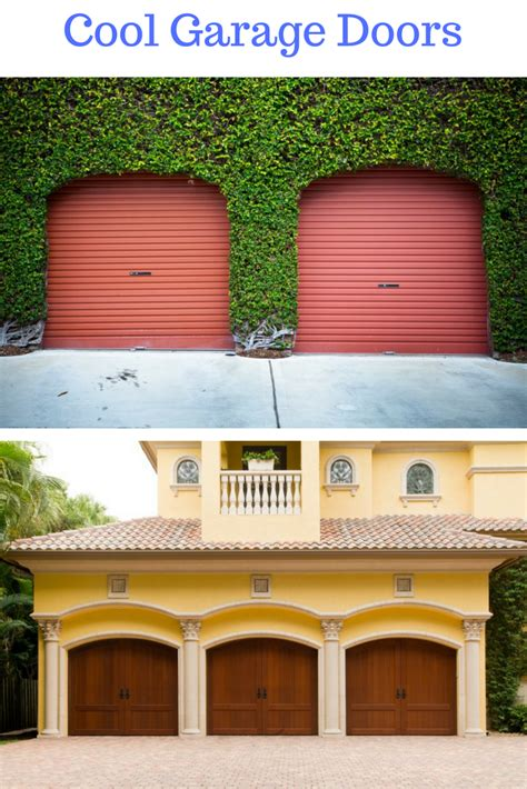 54 cool garage door design ideas on houses with pictures