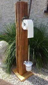 Toilettenpapierhalter Stehend Design : design toilettenpapier halter einzelst ck massivholz dachholz fu edelstahl ba os peque os ~ A.2002-acura-tl-radio.info Haus und Dekorationen