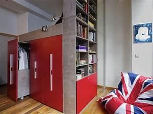 Lit Mezzanine Dressing : dressing ~ Premium-room.com Idées de Décoration