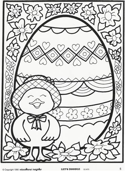easter  spring coloring pages   print