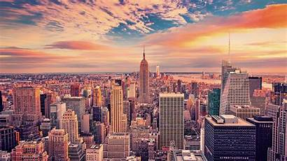 York 4k Building Empire State Buildings Landscape