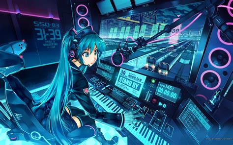Hatsune Miku Anime Wallpaper - miku hatsune wallpaper hatsune miku wallpaper 26723375