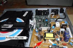 No Power In Samsung Dvd Player Repaired