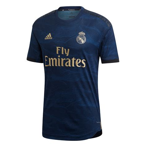 Maillot adidas Real Madrid Extérieur Authentic 2019-2020 ...