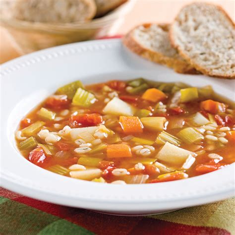 orge recettes cuisine soupe aux légumes et à l 39 orge recettes cuisine et