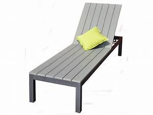 Bain De Soleil En Aluminium : bain de soleil en aluminium newport 200 x 59 5 x ~ Teatrodelosmanantiales.com Idées de Décoration