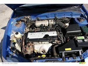2002 Hyundai Accent Gl Sedan 1 6 Liter Dohc 16
