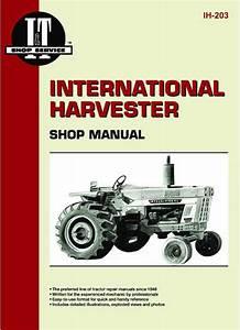 I  U0026 T Shop Service Manual - Case Ih Parts