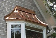 bay  copper roof  remodel   window canopy patio canopy bay window exterior