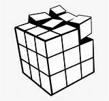 Rubiks Kindpng sketch template