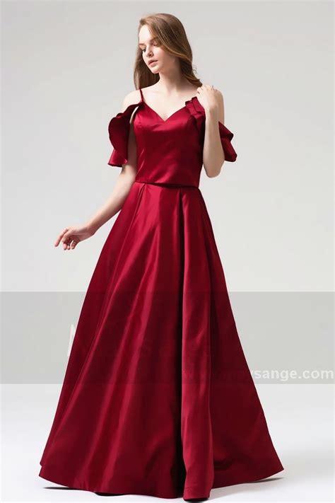 robe pour mariage chetre robe chic bordeaux pour mariage pas cher