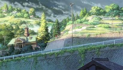 Background Anime Kimi Wa Na Scenery Backgrounds
