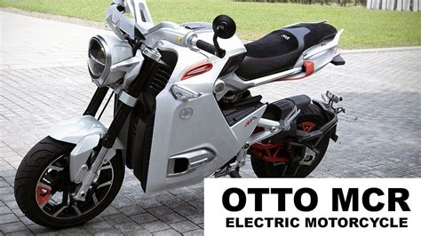 Mini Electric Motorcycle From Otto Bike