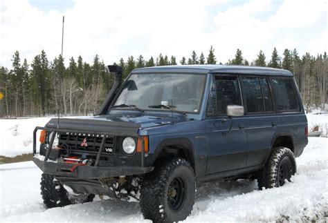 1986 Mitsubishi Montero