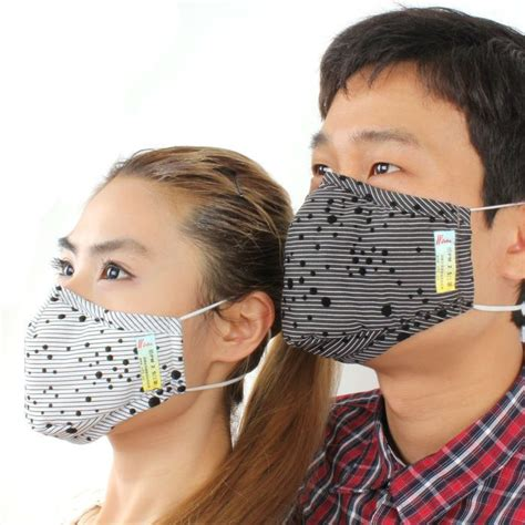 reusable facial cloth surgical mask printed mouth mask