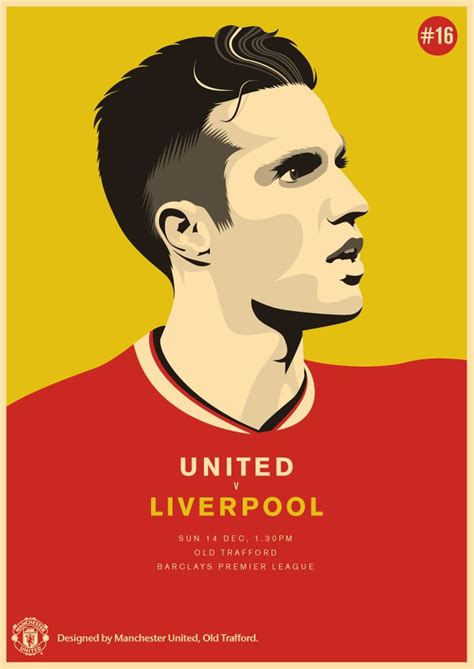 mufc  match day posters
