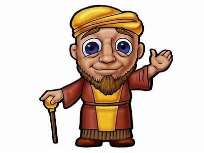 Bible Clipart Character Characters Biblical Clip Praying