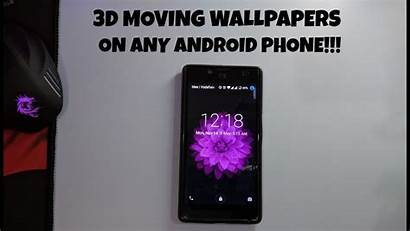 Moving Phone Android Wallpapers Picserio 3d Any