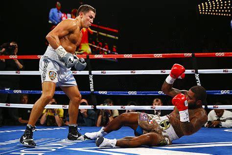 golovkin upsets american boxer  madison square garden