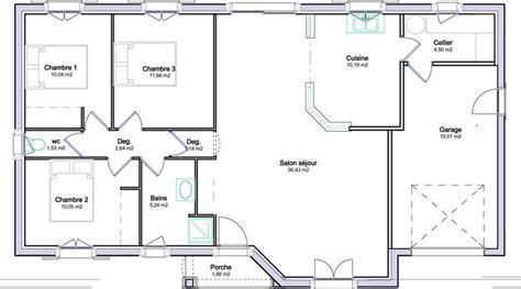 plan maison 4 chambres gratuit plan de maison 4 chambres gratuit