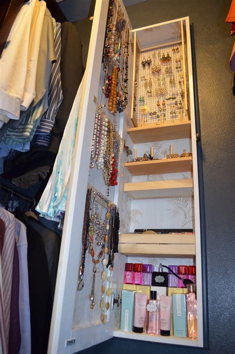 full length mirror  jewelry storage  bedroom