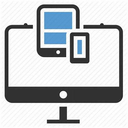 Icon Responsive Landing Device Tablet Computer Devices