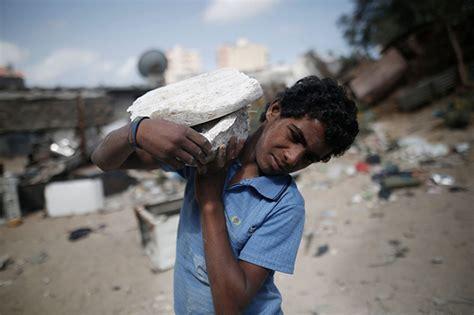 bureau des statistiques la pauvreté favorise le travail des enfants à gaza état