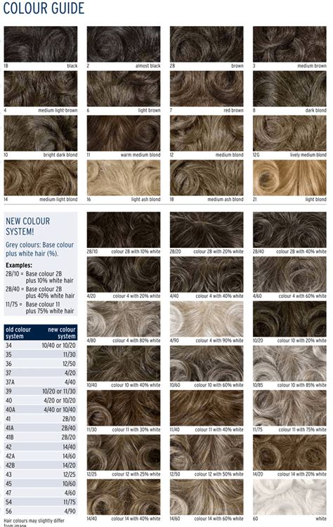 Chart Of Hair Colors by Hair Color Charts To Choose Best Shade For Your Hairs