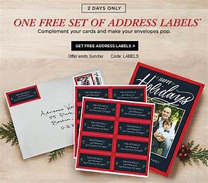 shutterfly free set of address labels With get free address labels
