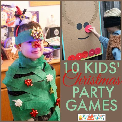fun christmas party games 10 collage jpg