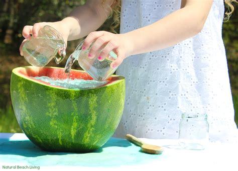 easy science experiments for preschool watermelon science activities baking soda and vinegar 258