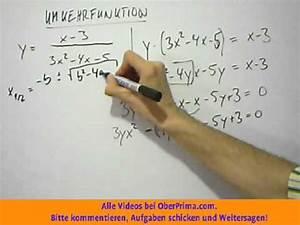 Asymptote Berechnen Gebrochen Rationale Funktion : umkehrfunktion gebrochen rationale funktion youtube ~ Themetempest.com Abrechnung