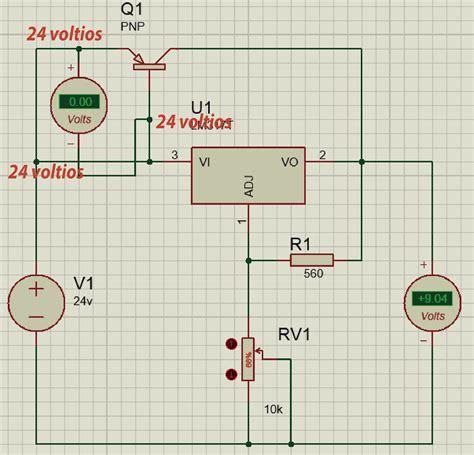regulador de voltaje de alta corriente  lm  bypass transistorizado panama hitek