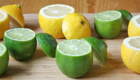 Health Benefits Of Lime And Lemon, Nutritional Facts And