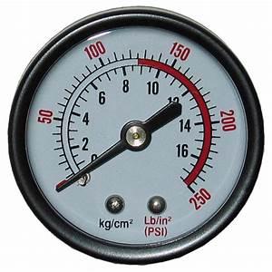 Powermate 250 Psi Pressure Gauge-032-0120rp