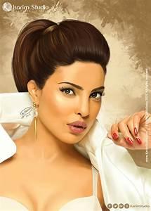 Priyanka Chopra Digital Painting by KarimStudio on DeviantArt