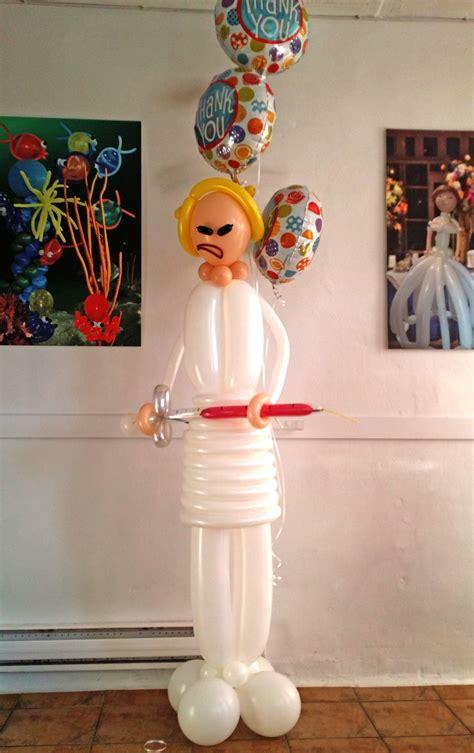 balloon sculpture nurse balloons vancouver blog