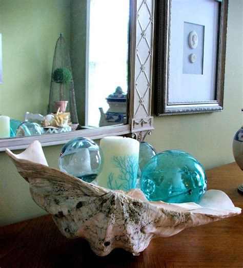 Large Clam Shell Decoration - 17 best images about clam shell ideas on