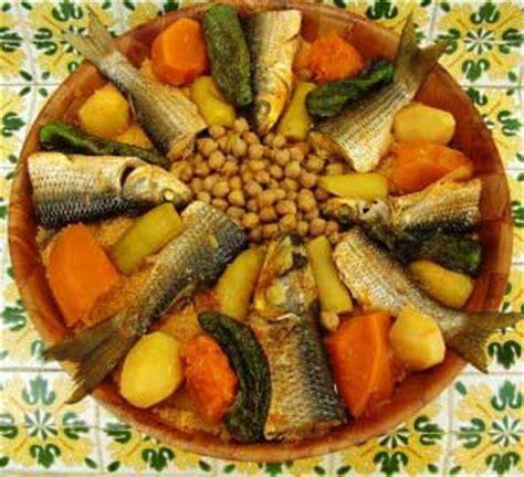 cuisine tunisienne poisson recette couscous djerbien au poisson cuisine tunisienne