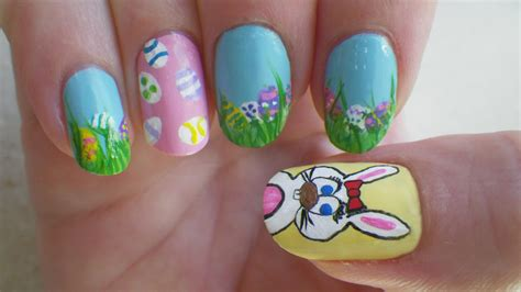 absolutely adorable easter nail art ideas