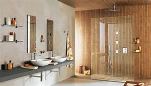 choisir les revetements sol et murs pour une douche italienne With porte d entrée pvc avec carrelage mural salle de bain blanc brillant