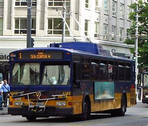 King County Metro 2001 Gillig Phantom Trolley 4142