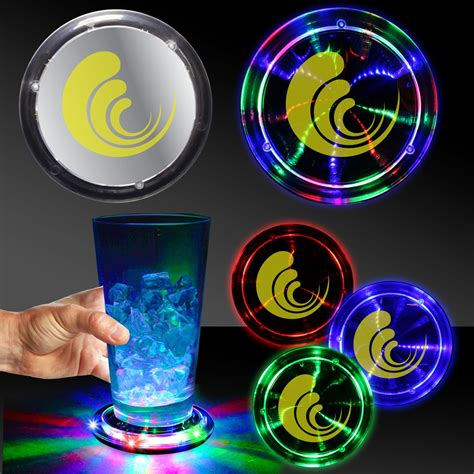 infinity fusion led coaster bar supplies drinkware